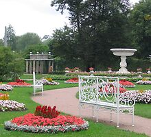 The Catherine Palace Park by Elena Skvortsova