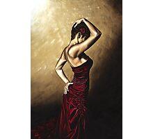 Flamenco Woman Photographic Print