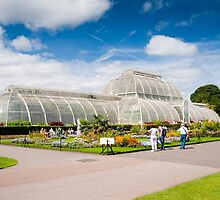 The Palm House Kew Gardens London UK by DonDavisUK