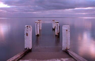 Port Vincent Jetty by Darryl Leach