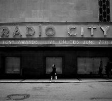 Rockefeller Center - Radio City by Gerald Holubowicz