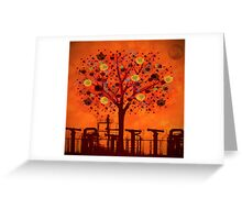 The tree factory Greeting Card