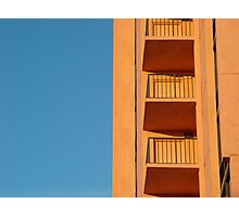Blue and Orange from Florida  Photographic Print