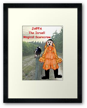 Jaffa - The Israeli Magical Scarecrow by Lynn Santer