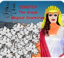 Demeter - The Greek Magical Scarecrow by Lynn Santer