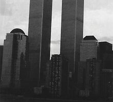 World Trade Center Sunrise  by John Schneider