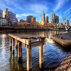 Old Pier on The Yarra - HDR by Dale Allman