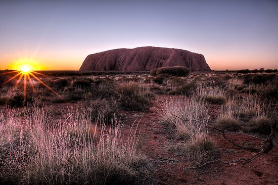 The Dreaming • Uluru by William Bullimore