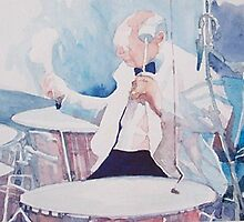 orchestral drummer by guilliart