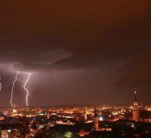 Lightning strike by horias2000