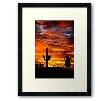 Wild Wild West Framed Print