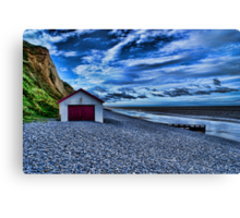 Sheringham Beach Norfolk UK Canvas Print