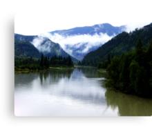 North Thompson River Canvas Print