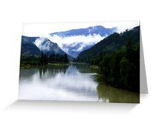North Thompson River Greeting Card