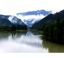 North Thompson River Photographic Print