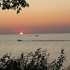 Old Familiar Sunset by Karen K Smith