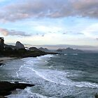 Sunset on Impanema  by CaptureRadiance