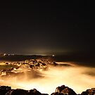 Kiama at night by Sam  Parsons