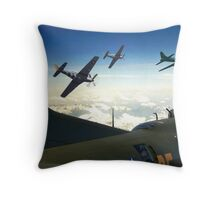The Final Mission Throw Pillow