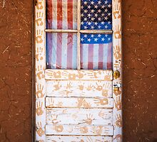 Pueblo Door - Taos, New Mexico by Bob  Perkoski