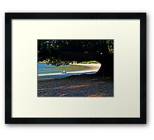 Beach Tree Framed Print