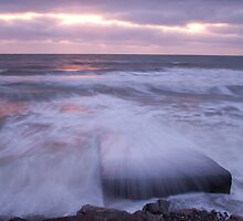 Blackwater beach at dawn, County Wexford, Ireland by Ian Middleton