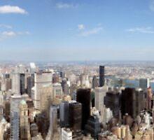 August 2009 360 of New York City by Antoniovp