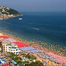 Haeundae Crowds - Busan, South Korea by Alex Zuccarelli