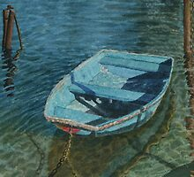 The old dinghy by Freda Surgenor