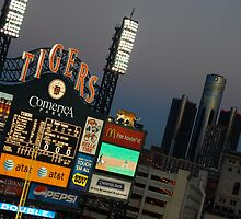 Comerica Park / Summer Home Baseball Tigers / Detroit, Michigan by utzuki