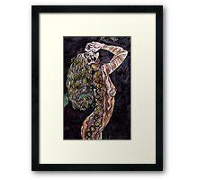 Visual Diary 2 - Night Goddess Framed Print