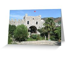 Marmaris Castle Greeting Card