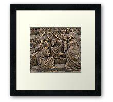 Mary Praying Framed Print