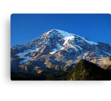 Blue Rainier Canvas Print