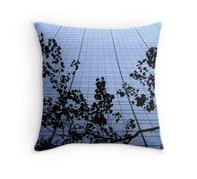 Skyrise silhouette Throw Pillow