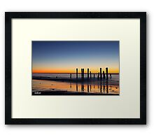 Pt. Willunga Jetty Framed Print