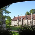 The Brothers' apartments, Hospital of St Cross, Winchester, southern England by Philip Mitchell