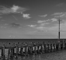 The End of Clacton Pier by AjayP