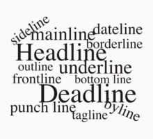 Journalistic Lines, Funny by Ron Marton