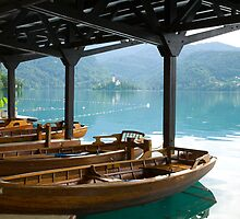 Bled Lake, Slovenia by Ian Middleton