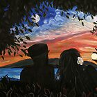 Sunset/Moonrise by Kevin Specht