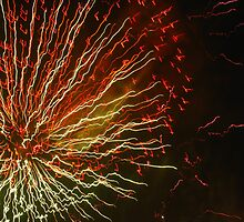 Fireworks 3 by Yvonne Carsley
