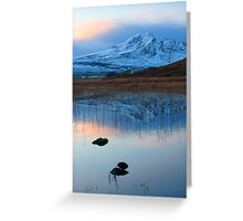 Blaven in the Gloaming, Loch Cill Chriosd, Isle of Skye. Scotland. Greeting Card