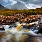 Marsco and River Sligachan, Isle of Skye, Scotland. by photosecosse /barbara jones