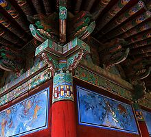 Buddhist Artistry - Seongnam Temple, South Korea by Alex Zuccarelli