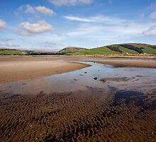 The Isle Of Bute Collection - Ettrick Bay Sands (Colour Version) by Kevin Skinner