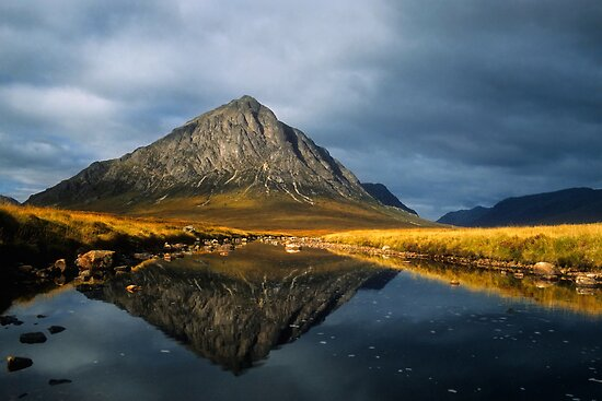 Buachaille Etive Mor, Glen Coe, Highlands of Scotland. by photosecosse /barbara jones