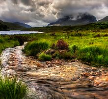 Liathach, Glen Torridon , North West Highlands, Scotland. by photosecosse /barbara jones
