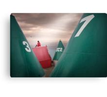 Boy's buoys Canvas Print