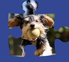 Puzzle Dog by Jodie Bennett